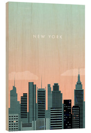 Wood  New York Illustration - Katinka Reinke