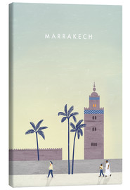 Canvas  Marrakech Illusrtration - Katinka Reinke