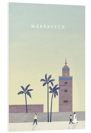 Foam board print  Marrakesh illustration - Katinka Reinke