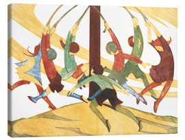 Canvas print  The giant stride - Ethel Spowers