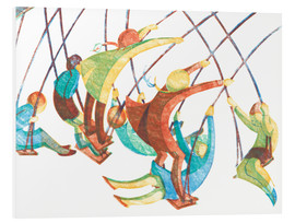Foam board print  Swings - Ethel Spowers