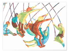 Premium poster  Swings - Ethel Spowers