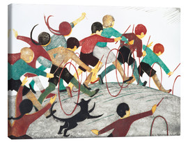 Canvas print  Children's hoops - Ethel Spowers