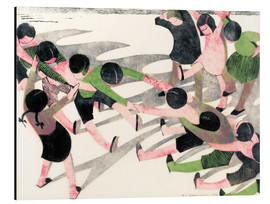 Aluminium print  Tug of war - Ethel Spowers