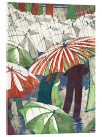 Acrylic print  Wet afternoon - Ethel Spowers