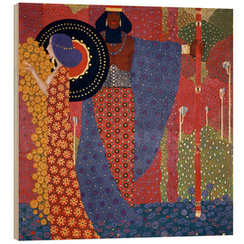 Wood  The princesses and the warriors - Vittorio Zecchin