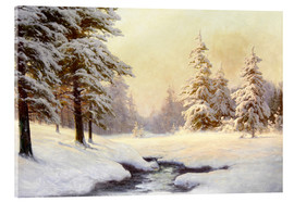 Carl Kenzler - Winter landscape