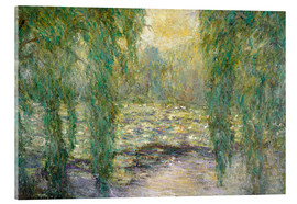 Acrylic glass  The water lilies - Blanche Hoschede-Monet