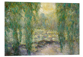 Foam board print  The water lilies - Blanche Hoschede-Monet