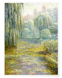 Premium poster The garden in Giverny