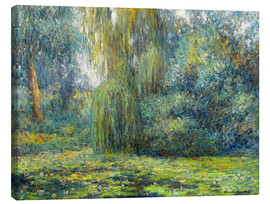 Canvas print  Water Lilies - Blanche Hoschede-Monet