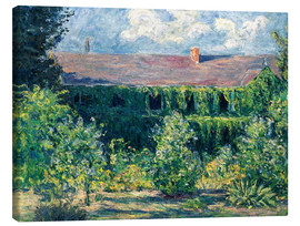 Canvas  Monet's house - Blanche Hoschede-Monet