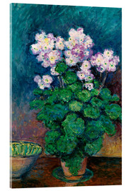 Acrylic print  Narcissus and Primroses - Blanche Hoschede-Monet