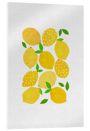 Acrylic print  Lemon Crowd - Orara Studio