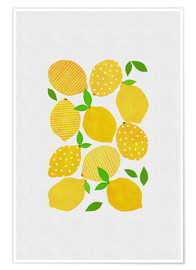 Premium poster  Lemon Crowd - Orara Studio