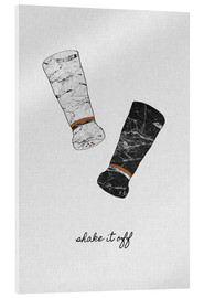 Acrylic print  Shake It Off - Orara Studio