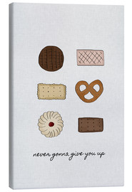 Canvas print  Never Gonna Give You Up - Orara Studio