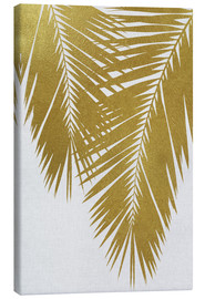 Canvas print  Palm Leaf Gold II - Orara Studio