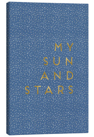 Canvas print  My Sun And Stars - Orara Studio