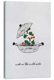 Canvas print  Wok On The Wild Side - Orara Studio