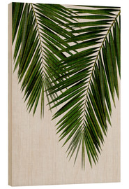 Wood  Palm Leaf II - Orara Studio