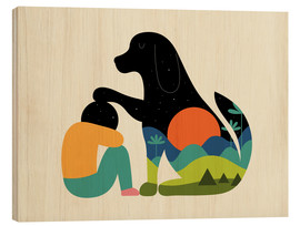 Wood print  The Best Is Yet To Come - Andy Westface