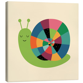 Canvas  Snail Time - Andy Westface