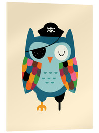 Acrylic print  Captain Whooo - Andy Westface
