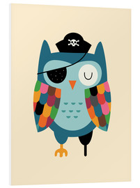 Foam board print  Captain Whooo - Andy Westface