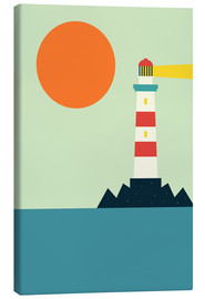 Canvas  Light House - Andy Westface