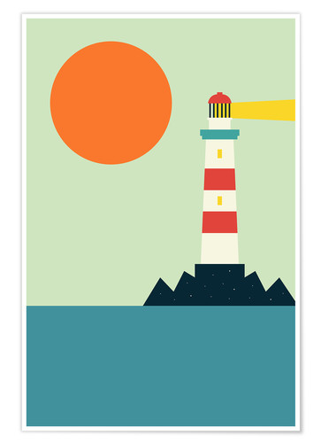 Poster Light House