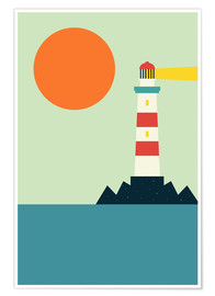 Premium poster  Lighthouse - Andy Westface