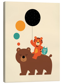 Canvas print  The little explorers - Andy Westface