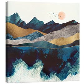 Canvas  Blue Mountain - SpaceFrog Designs