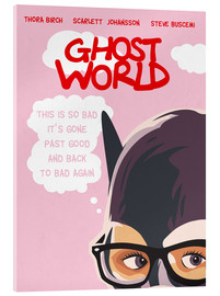 Acrylic print  Ghost World - Golden Planet Prints