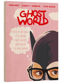 Golden Planet Prints - Alternative Ghost World art print