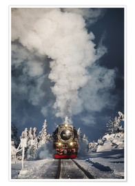 Premium poster Locomotive