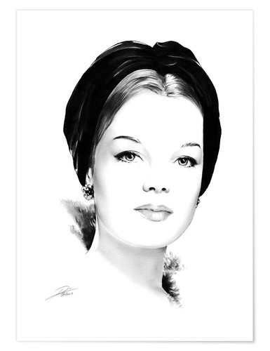 Poster Hollywood Diva - Romy Schneider