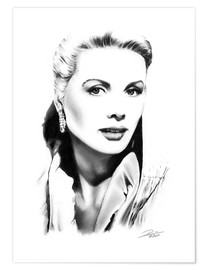 Premium poster Hollywood diva - Grace Kelly