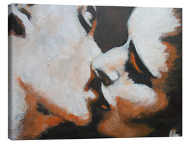 Canvas  Lovers -  Kiss 6 - Carmen Tyrrell