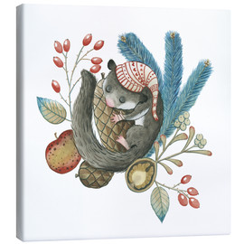 Canvas print  Dormouse - Leonora Camusso