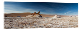 Acrylic print  Panorama Valley of the Moon, Atacama, Chile - Circumnavigation