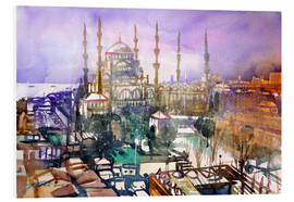 Forex  Istanbul, view to the blue mosque - Johann Pickl
