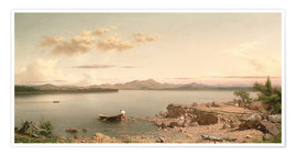 Premium poster  Lake George - Martin Johnson Heade