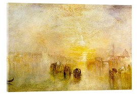 Acrylic print  Going to the Ball (San Martino) - Joseph Mallord William Turner