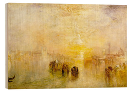 Wood print  Going to the Ball (San Martino) - Joseph Mallord William Turner