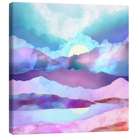 Canvas  Opal Mountains - SpaceFrog Designs