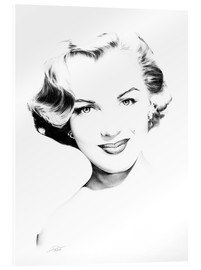 Acrylic glass  Hollywood Diva - Marilyn Monroe - Dirk Richter