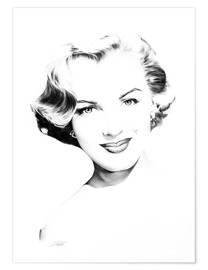 Premium poster Hollywood Diva - Marilyn Monroe