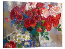 Canvas print  red roses - Augusto Giacometti